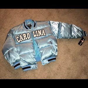 Vintage Style Carolina Blue Bubble Jacket